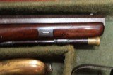 Original Cased set of Dueling Pistols Made by Lane in Brighton, England- NICE!!!!! - 4 of 15