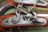 Original Cased set of Dueling Pistols Made by Lane in Brighton, England- NICE!!!!! - 9 of 15
