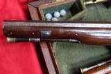 Original Cased set of Dueling Pistols Made by Lane in Brighton, England- NICE!!!!! - 7 of 15