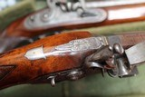 Original Cased set of Dueling Pistols Made by Lane in Brighton, England- NICE!!!!! - 11 of 15