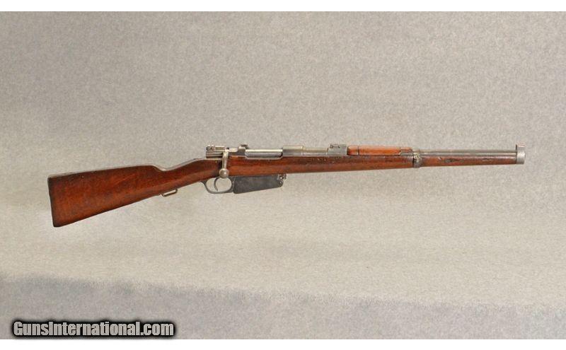 DWM ~ 1891 Argentine Mauser Carbine ~ 7 65x53