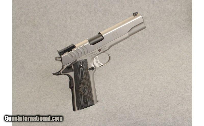 Ruger ~ SR1911 Target ~ 9mm Luger