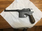 Mauser c 961916 , 7.62
