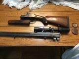 Manton & Co double rifle , 350 Ex #2