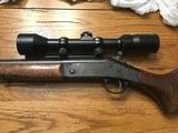New England handi rifle 7 x 57 mauser