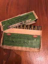 Full Box Western Cartridge Company .30 Cal Government 1906