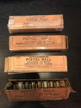 4 boxes of misc. .45 Auto 1911 from Winchester , Frankford Arsenal Mixed