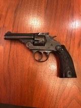 Iver Johnson Third Model Safety Automatic Hammer Revolver .32 S&W