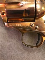 Colt SAA .38 Special Gold Plated 1st Gen - 6 of 15