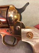 Colt SAA .38 Special Gold Plated 1st Gen - 8 of 15