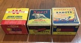 Lot of 3 Boxes of Vintage Shotgun Shells Western Expert, Winchester Super Speed and Winchester Ranger 12 and 16 ga - 1 of 8