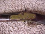 Fine Kentucky Rifle, Golcher Lock, Fine Patchbox and Carved Stock With Checkering,.50 Cal. - 6 of 6