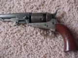 "Fine Plus Colt 1849 Pocket model, 4""x.31 Cal., Blue, Scene, Silver, Bore"