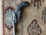 "Excellent Colt Thunderer, 4""x .41, >90$ Blue and Case, Exc. Bore, Works Well SA/DA, Antique"