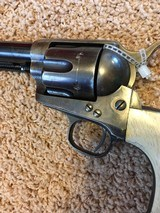 Colt First Gen. SAA, .45 caliber. Letters to an Ute Chief, Buckskin Charley. 1875 - 2 of 4