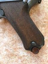 Fine German WWI Luger, 9 MM, dated 1914, Ehrfurt, C&R - 4 of 4