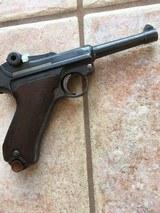 Fine German WWI Luger, 9 MM, dated 1914, Ehrfurt, C&R - 2 of 4