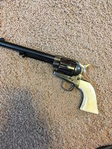 """Exc. First Gen. Single Action Army Revolver, .45 Cal. , 7 1/2"""" Barrel,Blue, Case, SN 10xxx Matching, Great Bore - 1 of 4"""