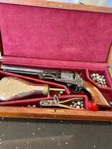 Fine Colt Cased 1851 Navy Copy Plus All accessories. Only Marking is London on Barrel