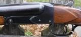 WINCHESTER - MODEL 21 TRAP GRADE - 12 GAUGE30 INCH BARREELS CHOKEDFULL .037 / FULL .037 - - 5 of 10