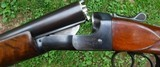 IVER JOHNSON- SKEETER - 16 GA. DOUBLE TRIGGERD - 28 INCH BARRELS CHOKED IC .0008 / MOD. .013 - HIGHLY FIGURED PISTOL GRIP STOCK WITH OWLS HEAD BUTTPLA - 10 of 11