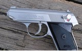 """WALTHER - TPH CAL. ,22LR - STAINLESS WITH BLACK GRIPS - OVER LENGTH 5 1/2"""" - DEPTH3 1/2"""" - MAG. CAPACITY 6 - 5 of 5"""