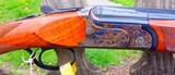 """B. RIZZINI -410 GAUGE O/UAURUM SMALL ACTION - CASE COLORED ACTION - 28"""" VENT RIB BLS W/CHOKE TUBES - STRAIGHT HAND STOCK- - 5 of 11"""