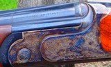 """B. RIZZINI -410 GAUGE O/UAURUM SMALL ACTION - CASE COLORED ACTION - 28"""" VENT RIB BLS W/CHOKE TUBES - STRAIGHT HAND STOCK- - 2 of 11"""