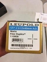 Leupold VX 2 4-14x40MM in BOX