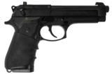 BERETTA 92FS 9MM USED GUN INV 192376