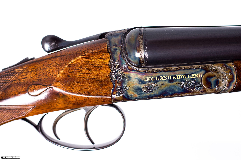 Holland And Holland Shotguns >> HOLLAND & HOLLAND CAVALIER 12GA USED GUN INV 166679