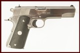 COLT 1911 MKIV 80 45ACP USED GUN INV211370 - 1 of 2