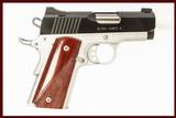 KIMBER ULTRA CARRY II 45ACP USED GUN INV 211661 - 1 of 2