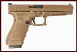 GLOCK 41 GEN4 FDE 45ACP USED GUN INV 211792 - 1 of 2