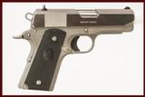 COLT M1991 A1 COMPACT 45ACP USED GUN INV 214025