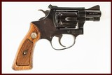 SMITH AND WESSON 34-1 22LR USED GUN INV 211174