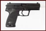 H&K USP9 9MM NEW GUN INV 197635