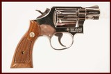 SMITH & WESSON 10-7 .38 SPL USED GUN INV 211020