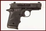 SIG SAUER P938 USED GUN INV 214336