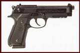 BERETTA 92A1 9MM USED GUN INV 214737
