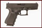 GLOCK 19 GEN 4 9MM USED GUN INV 214731