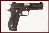 SIG SAUER 1911 NIGHTMARE 45 ACP USED GUN INV 214738