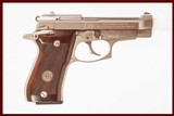 BERETTA 85FS CHEETAH 380 ACP USED GUN INV 214586