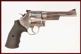 SMITH & WESSON 629-6 44 MAG USED GUN INV 214729