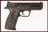 SMITH & WESSON M&P40 40 S&W USED GUN INV 214160