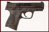 SMITH & WESSON M&P40C 40 S&W USED GUN INV 214326