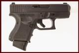 GLOCK 27 GEN 4 40 S&W USED GUN INV 214164