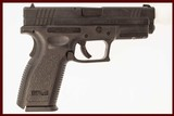 SPRINGFIELD ARMORY XD-357 357 SIG USED GUN INV 213036