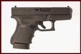GLOCK 36 GEN 3 45 ACP USED GUN INV 214559