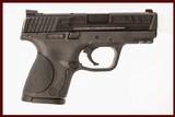 SMITH & WESSON M&P 40C 40 S&W USED GUN INV 214695
